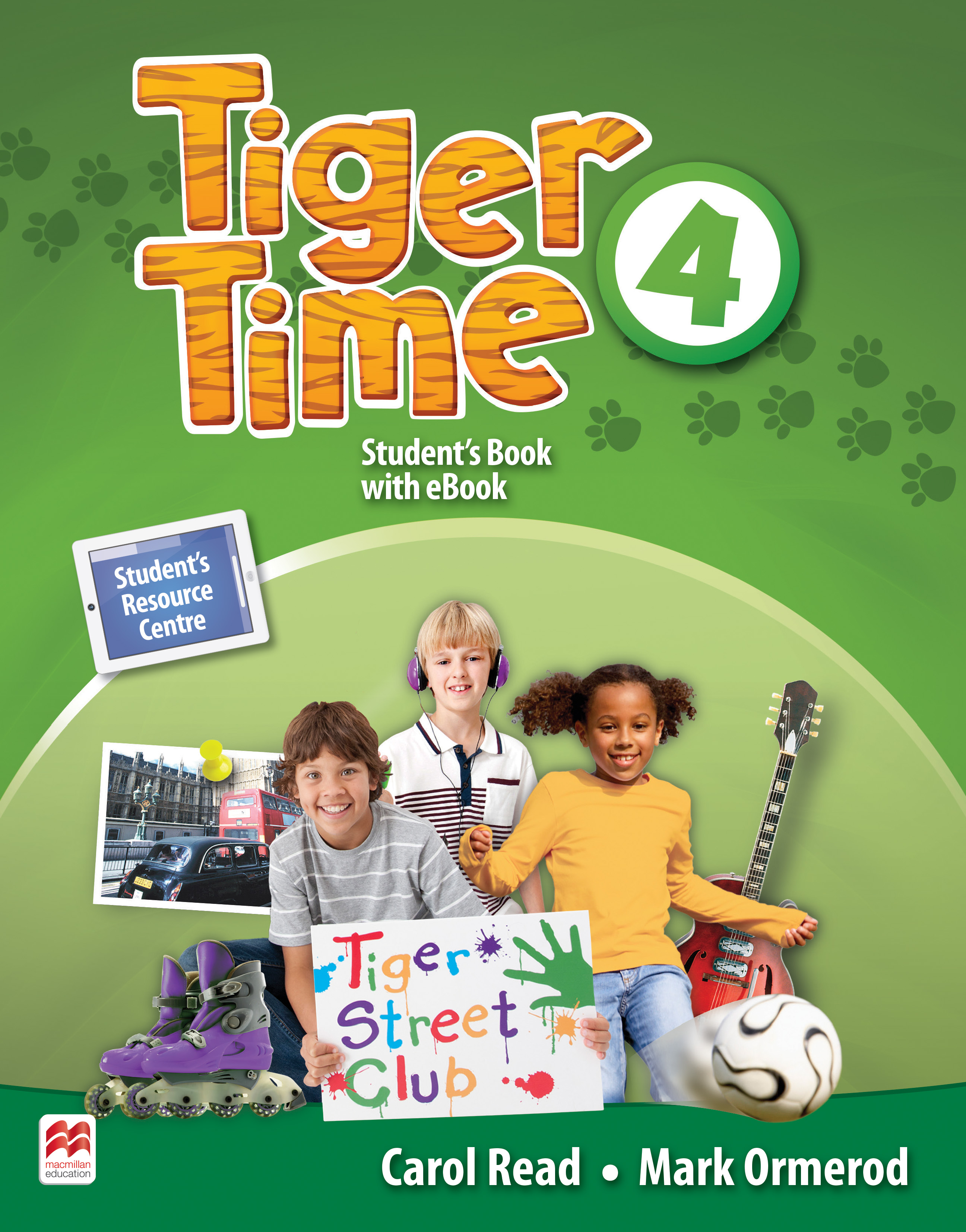 Tiger Time Level 4 Student Book + eBook Pack