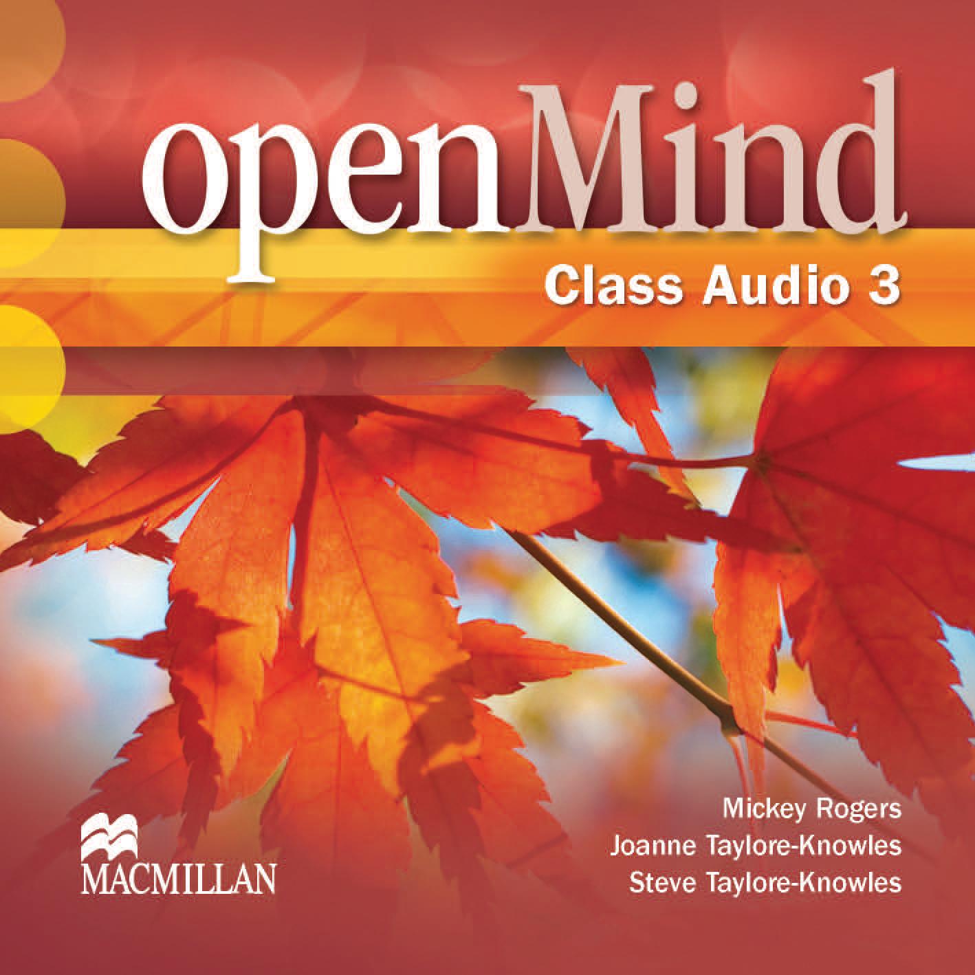 openMind 3 Class Audio CD