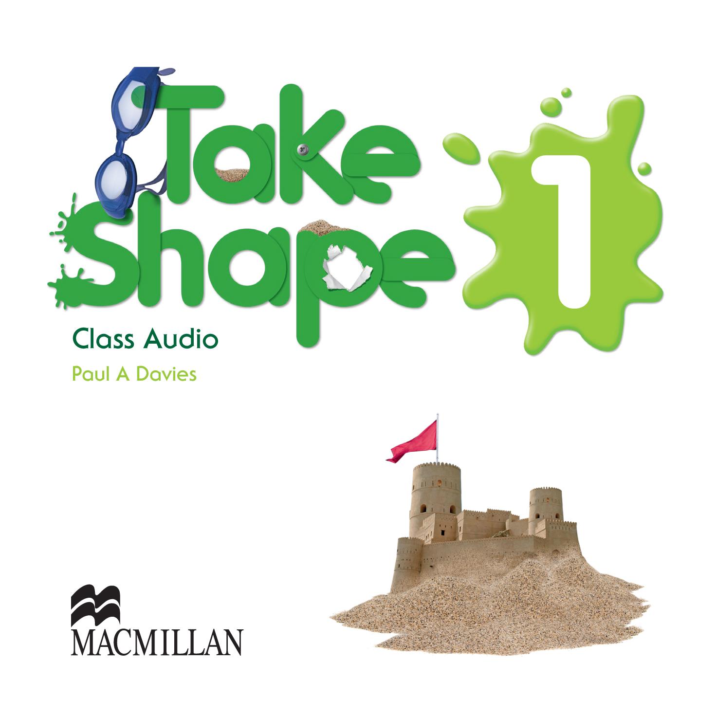 Take Shape 1 Class Audio CDs