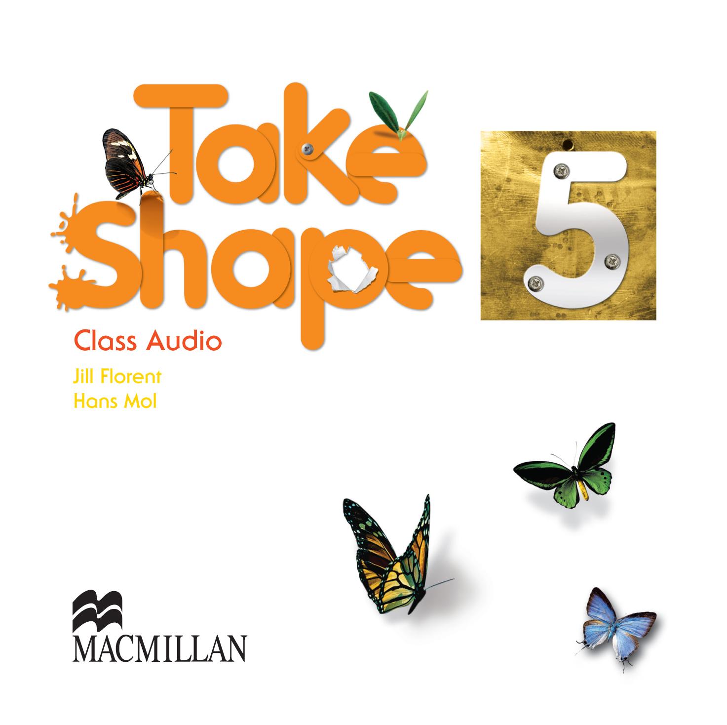 Take Shape 5 Class Audio CDs