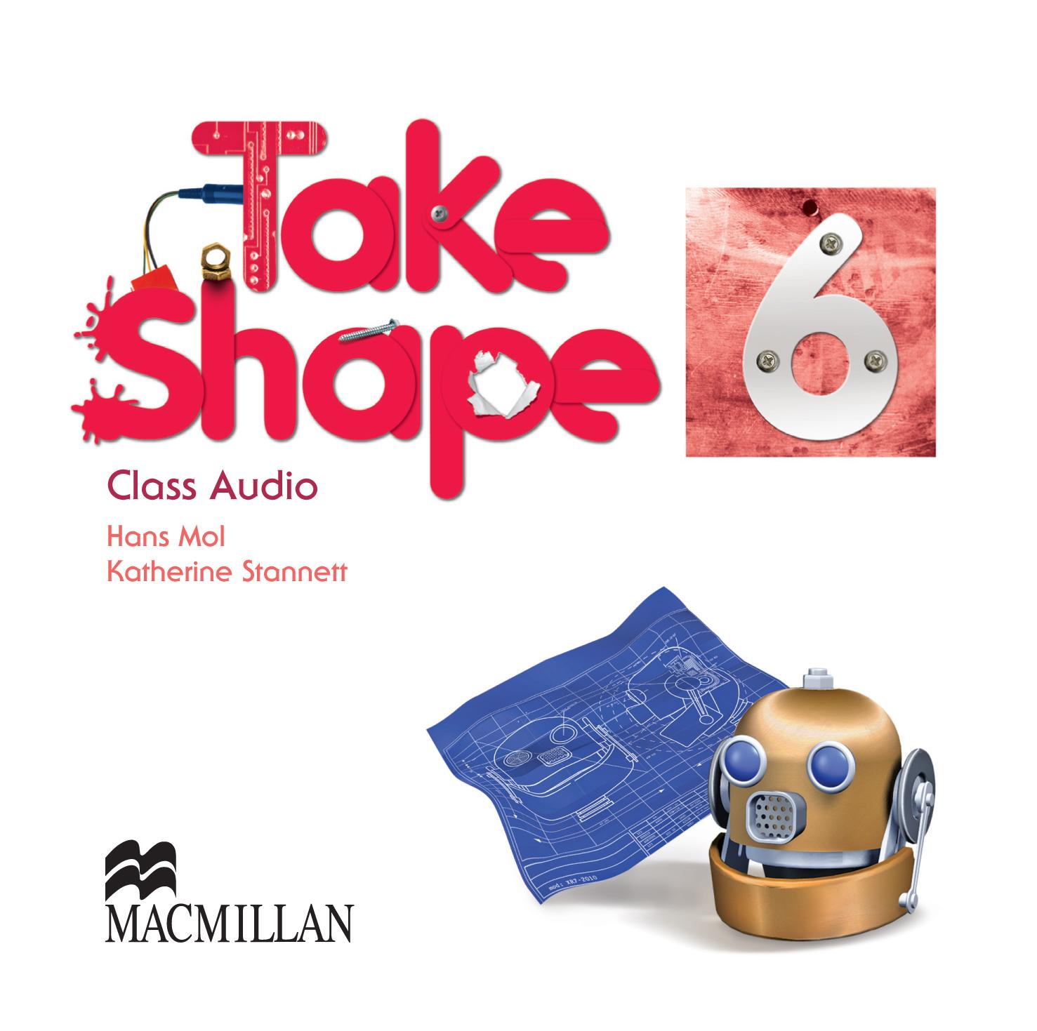 Take Shape 6 Class Audio CDs
