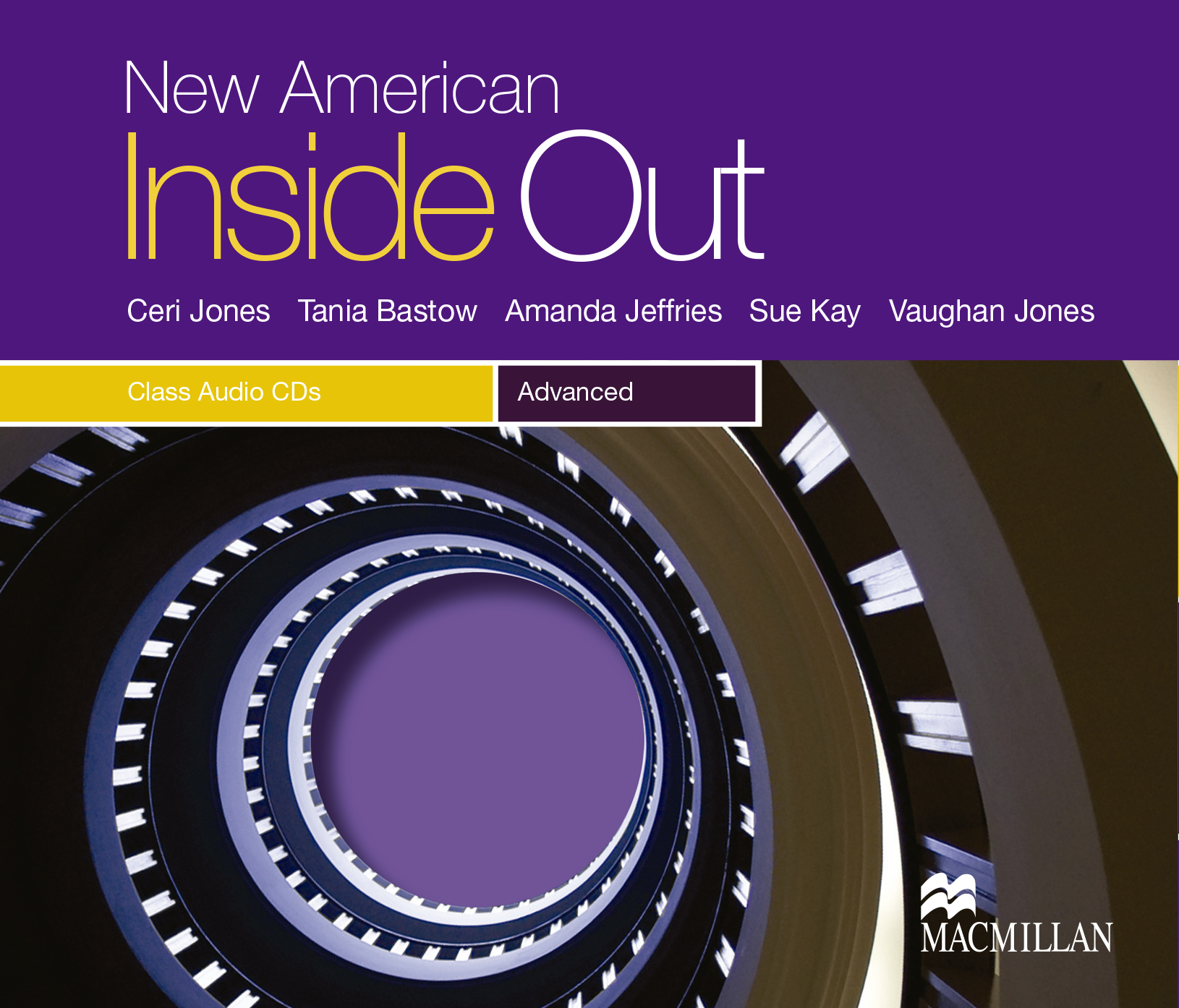 New American Inside Out Advanced Class Audio CDs