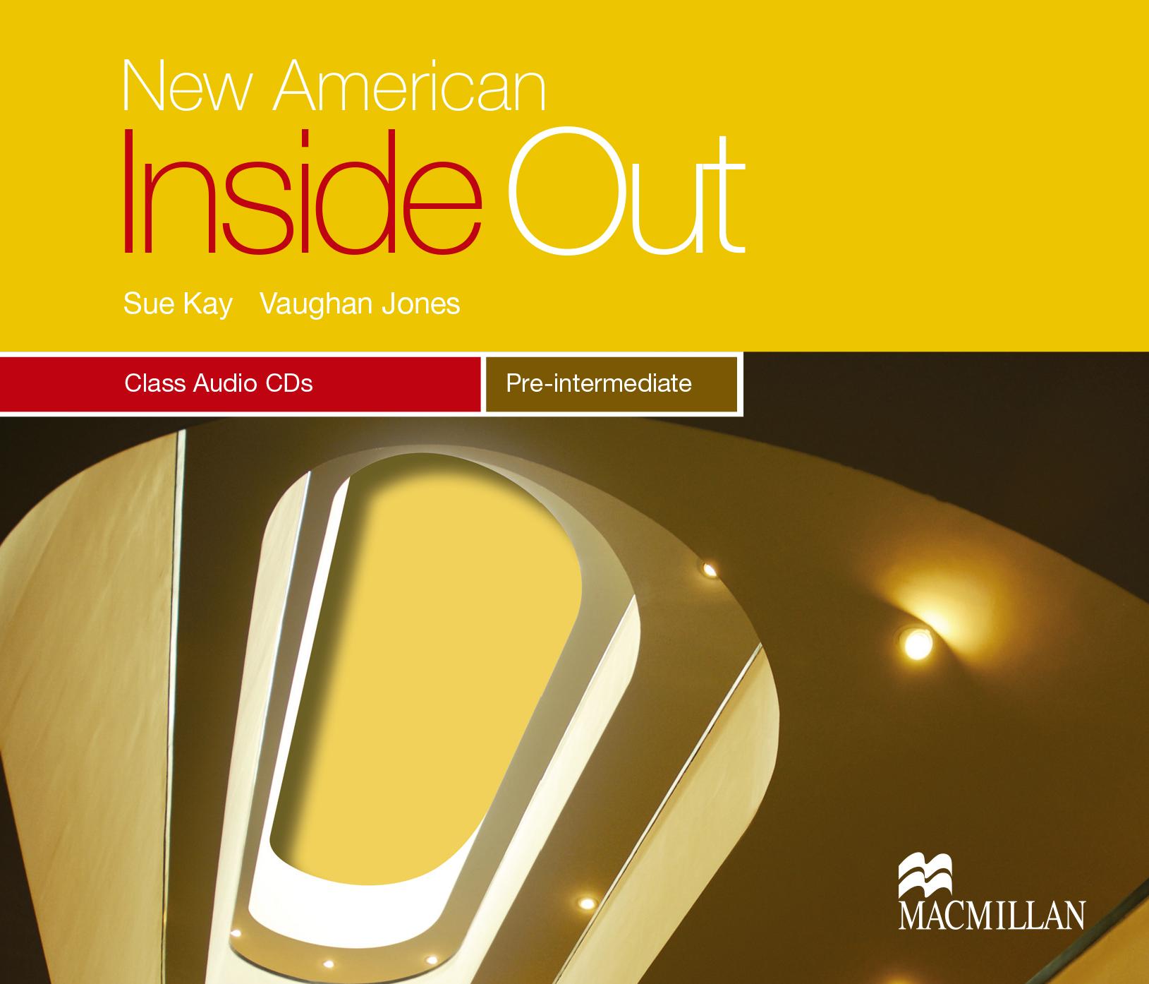 New American Inside Out Pre-Intermediate Class Audio CDs