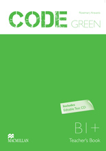 Code Green Teacher Book + Editable Test Pack