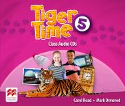 Tiger Time Level 5 Class Audio CDs