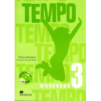 Tempo 3 Workbook with CD Rom Pack