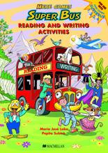 Here Comes Super Bus Reading and Writing Book