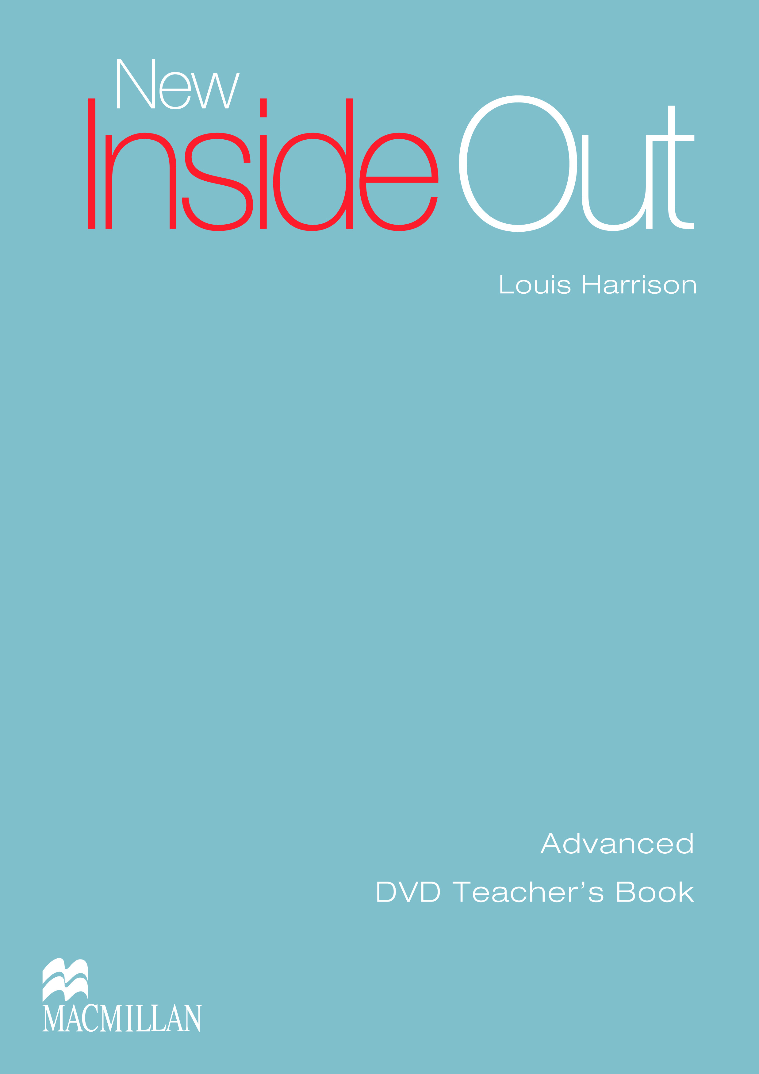 New Inside Out Advanced DVD Teacher