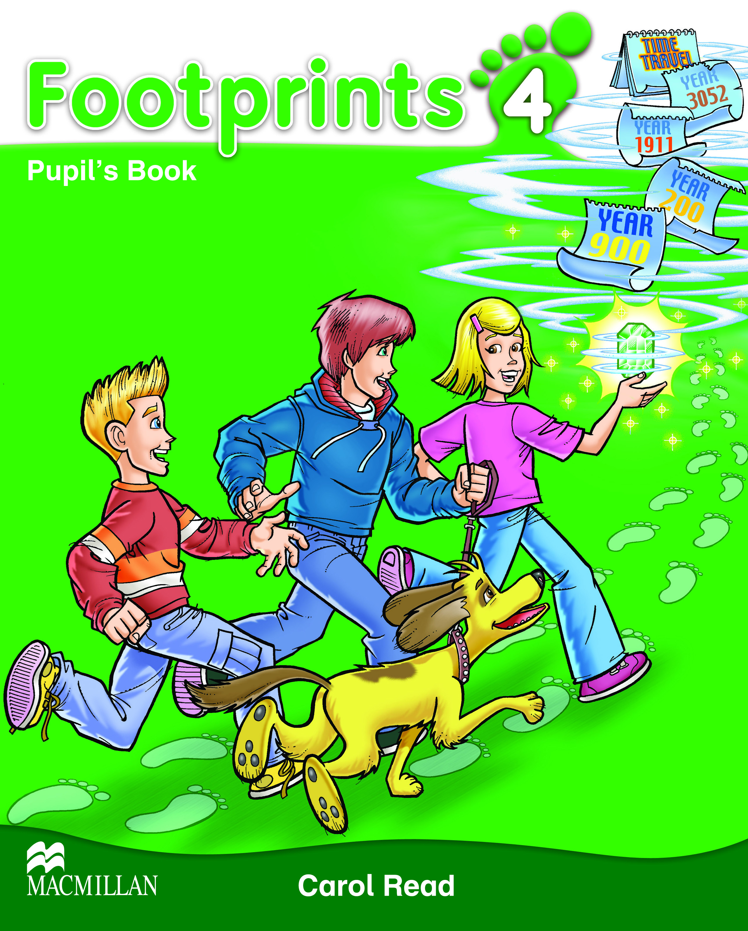 Footprints 4 Pupil