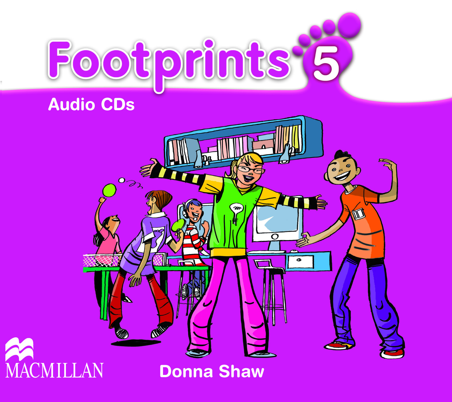Footprints 5 Class Audio CD