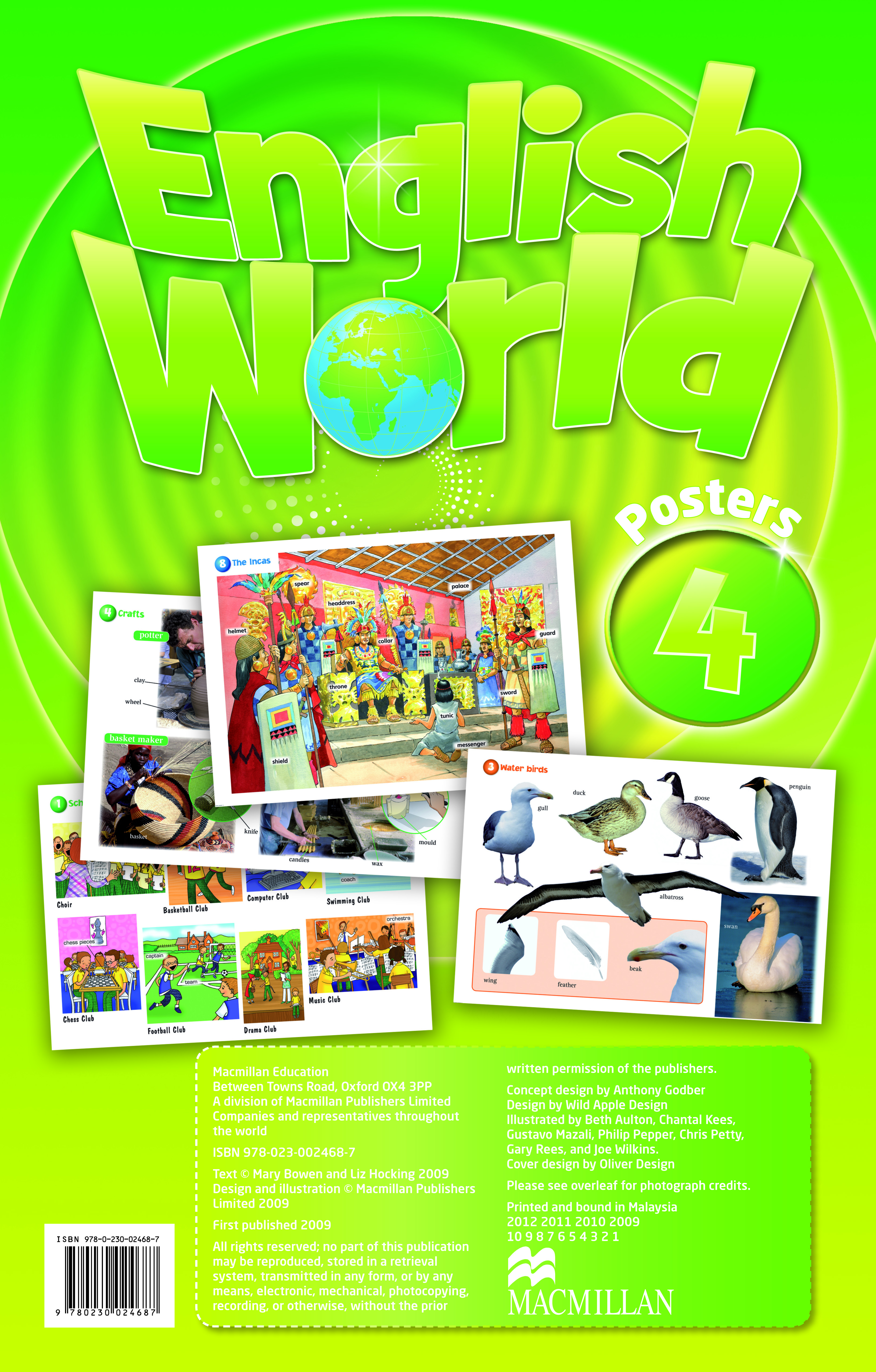 English World 4 Posters