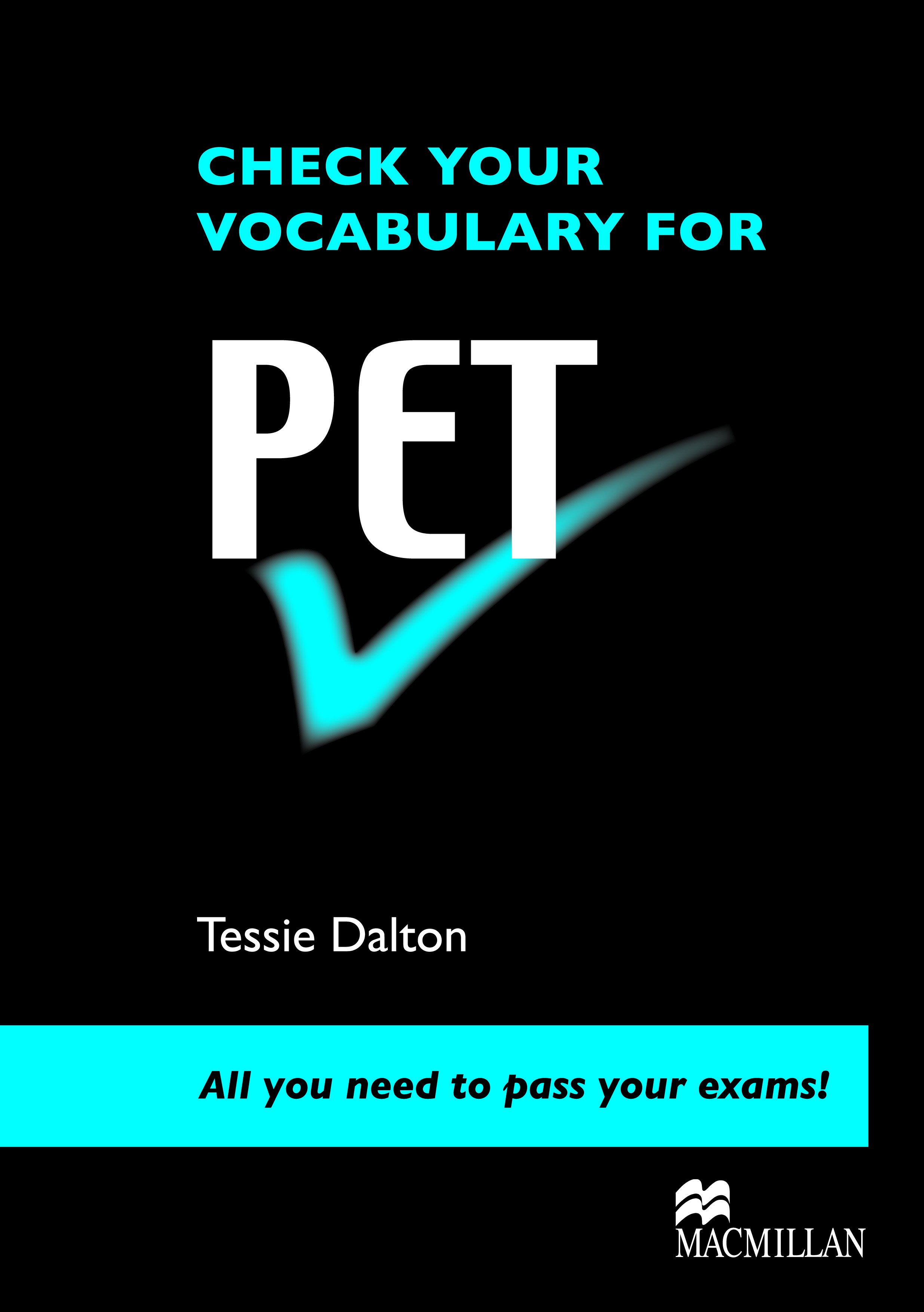 Check Your Vocabulary for PET