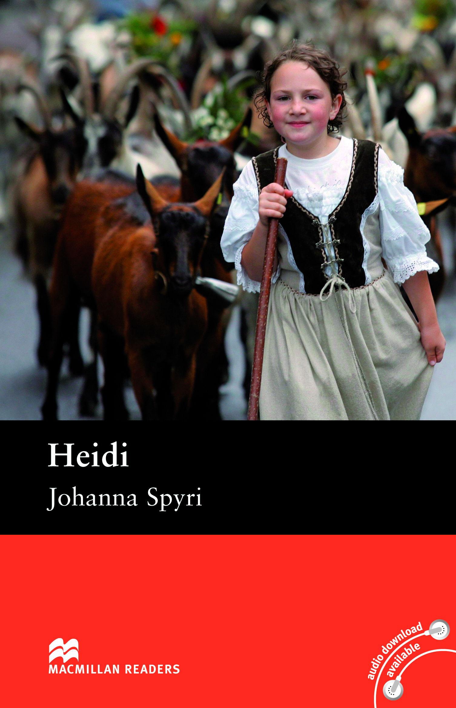 Macmillan Readers: Heidi without CD
