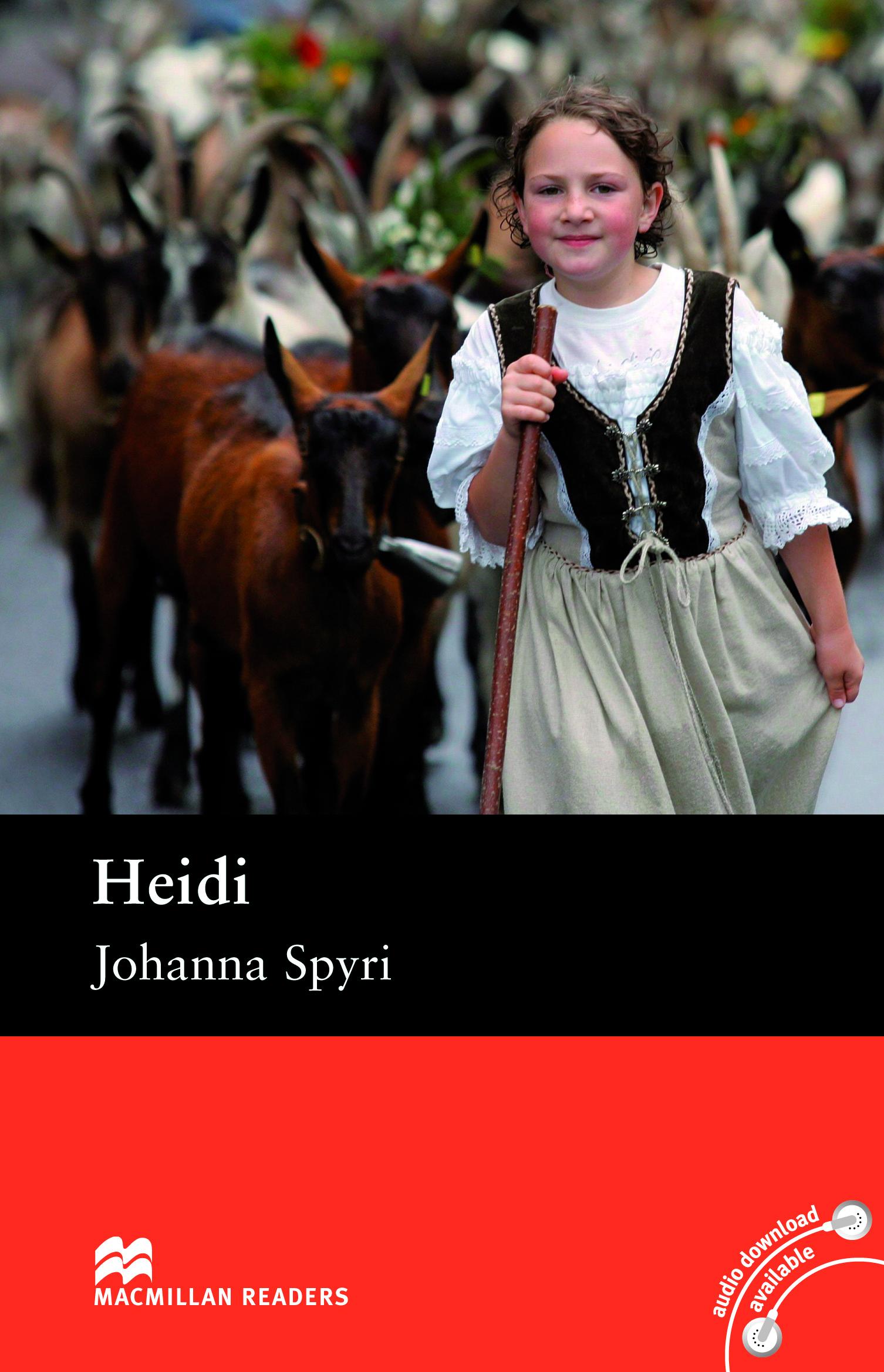Macmillan Readers: Heidi without CD