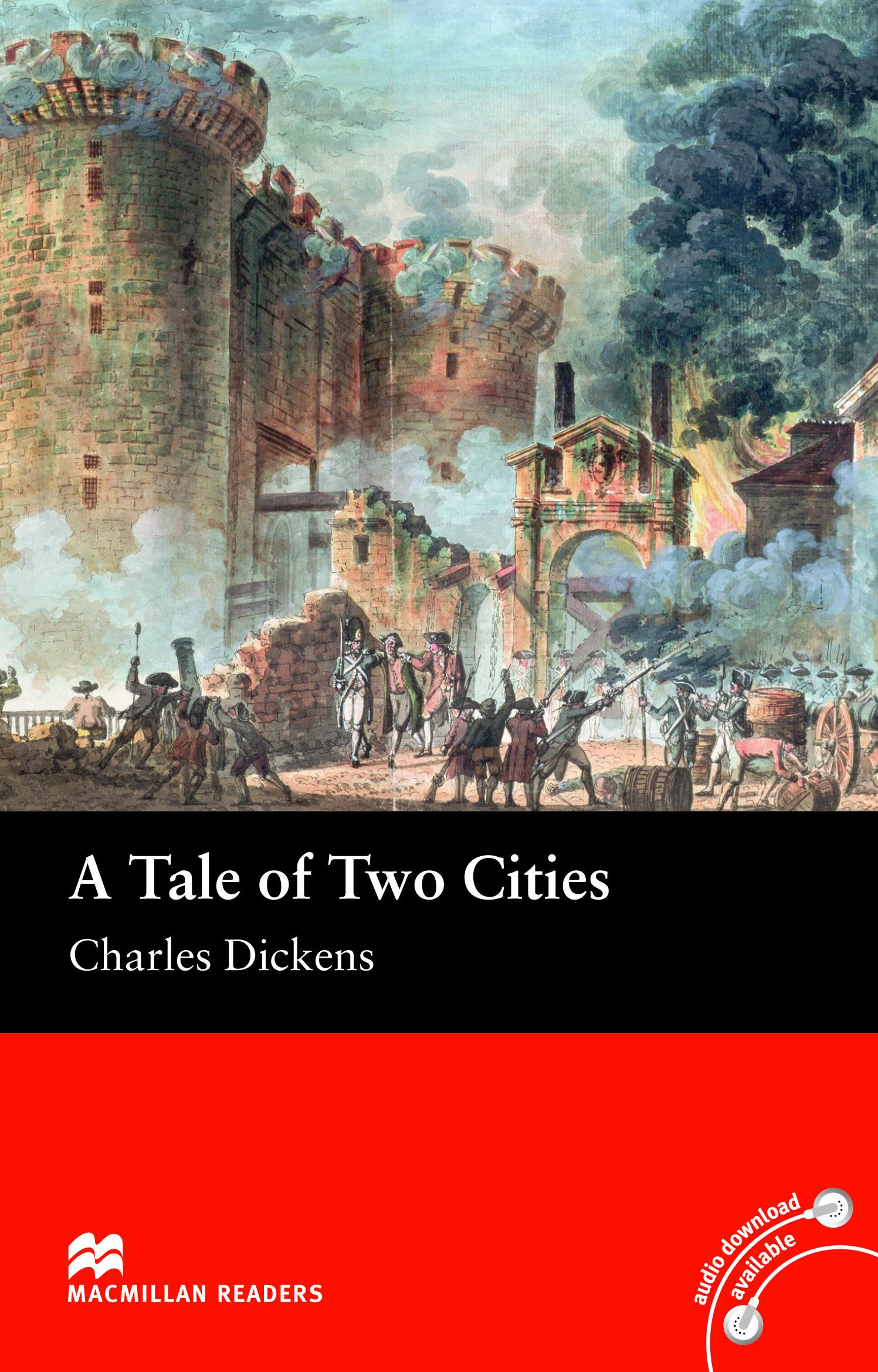 Macmillan Readers: A Tale of Two Cities without CD