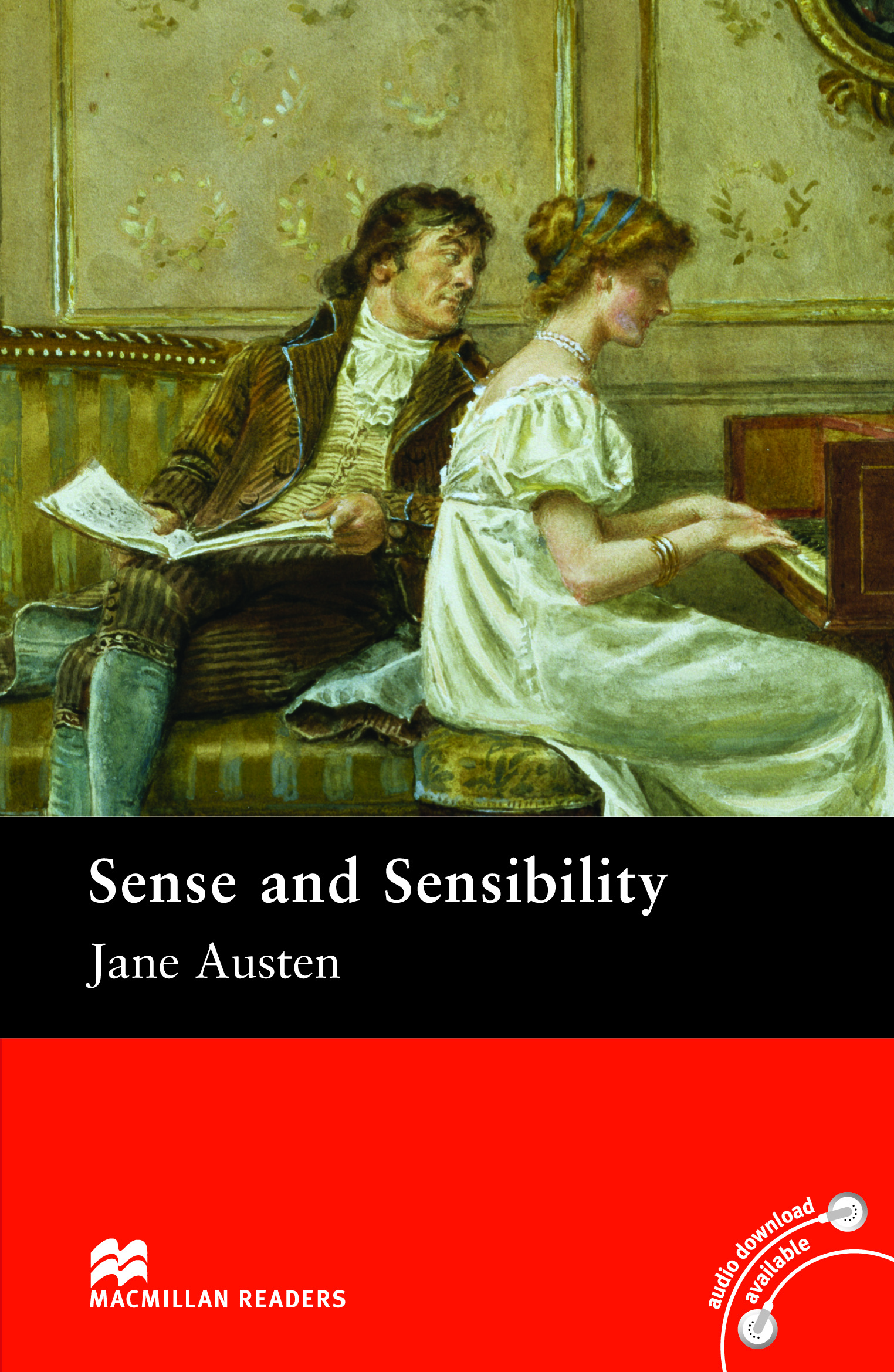 Macmillan Readers: Sense and Sensibility without CD