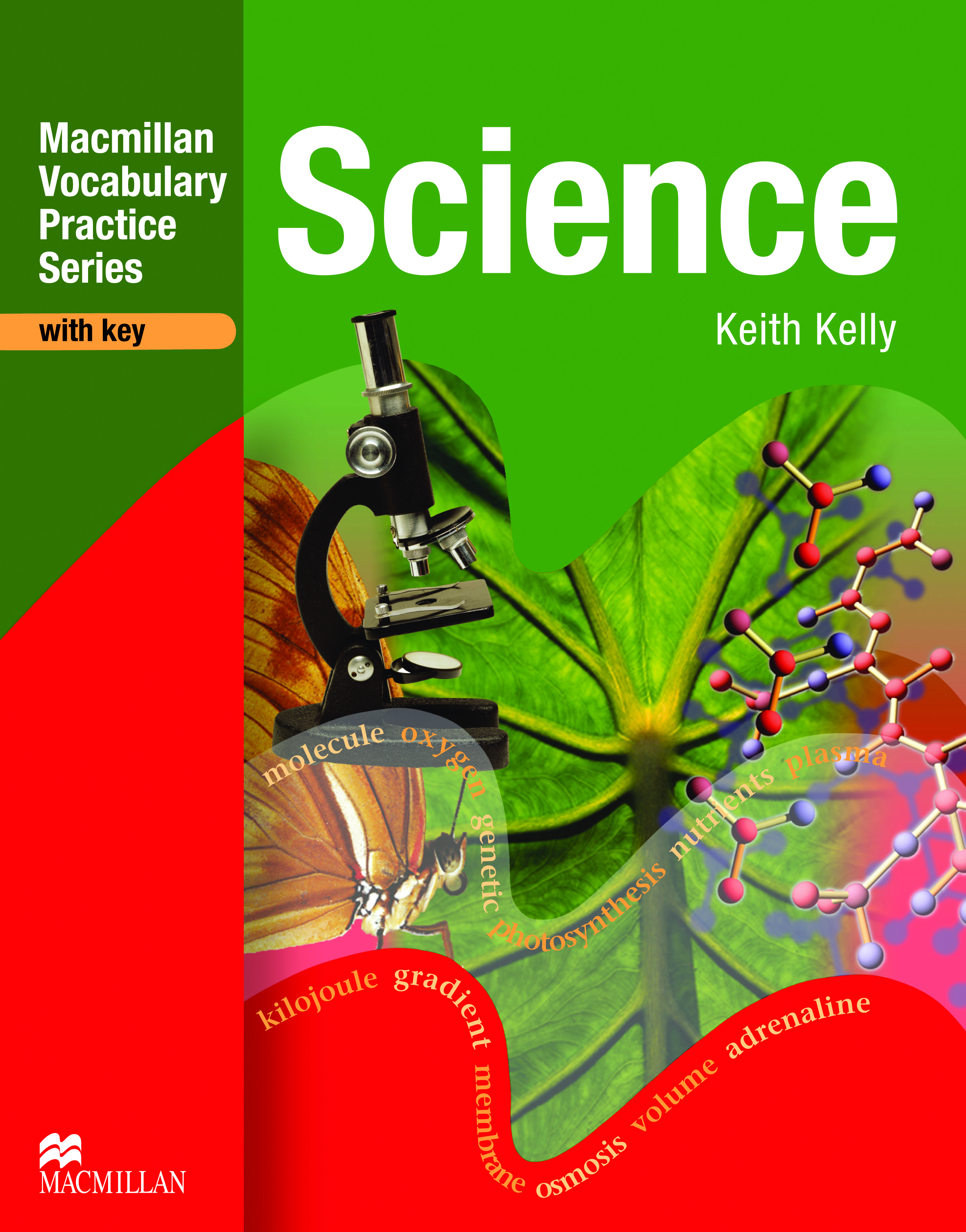 Vocabulary Practice Series Science with Key