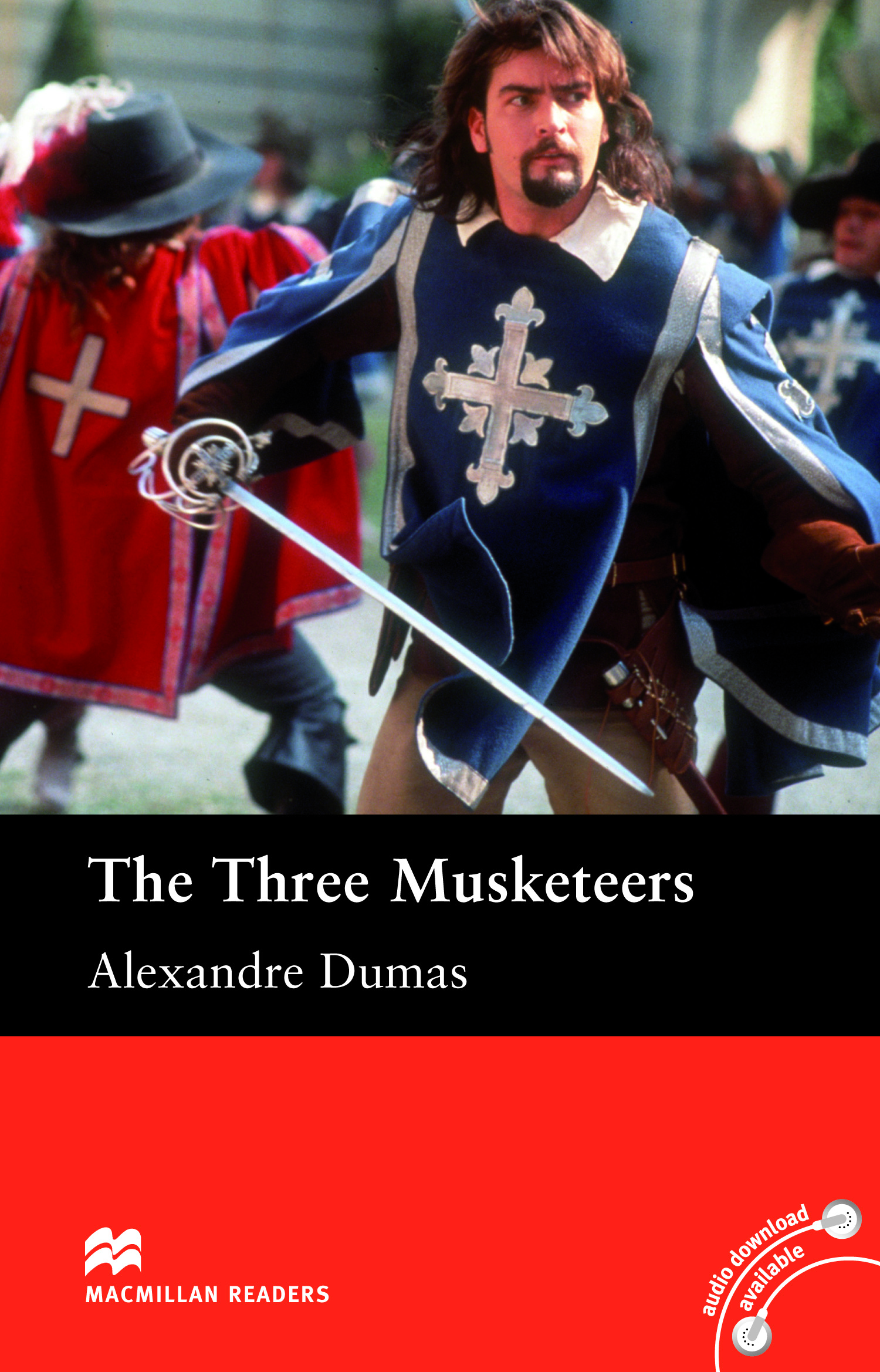Macmillan Readers: The Three Musketeers without CD