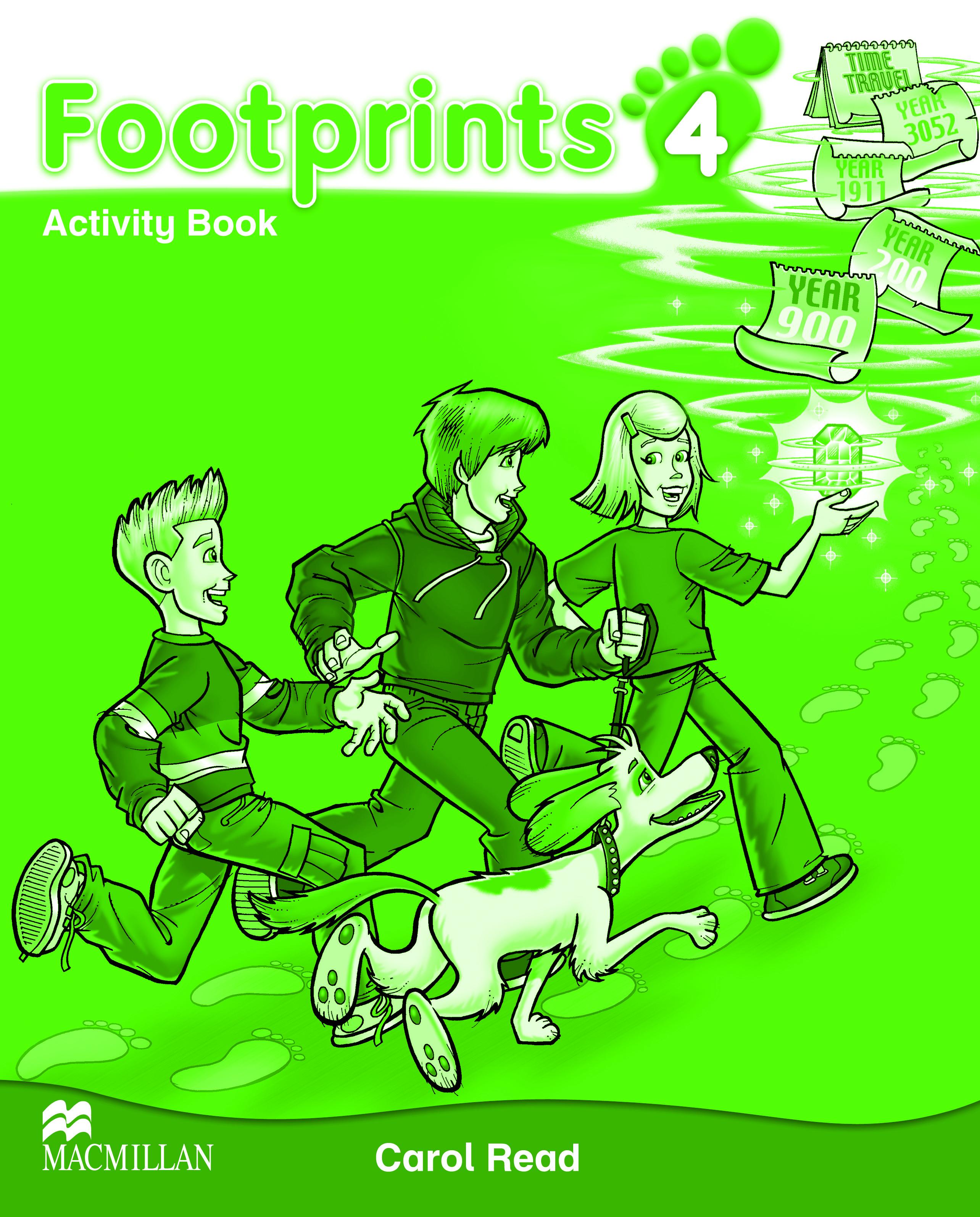 Footprints 4 Activity Book