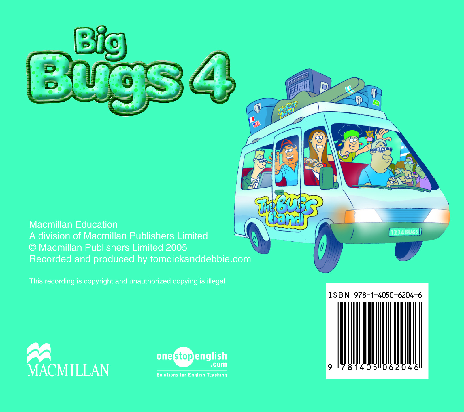 Big Bugs 4 Audio CD