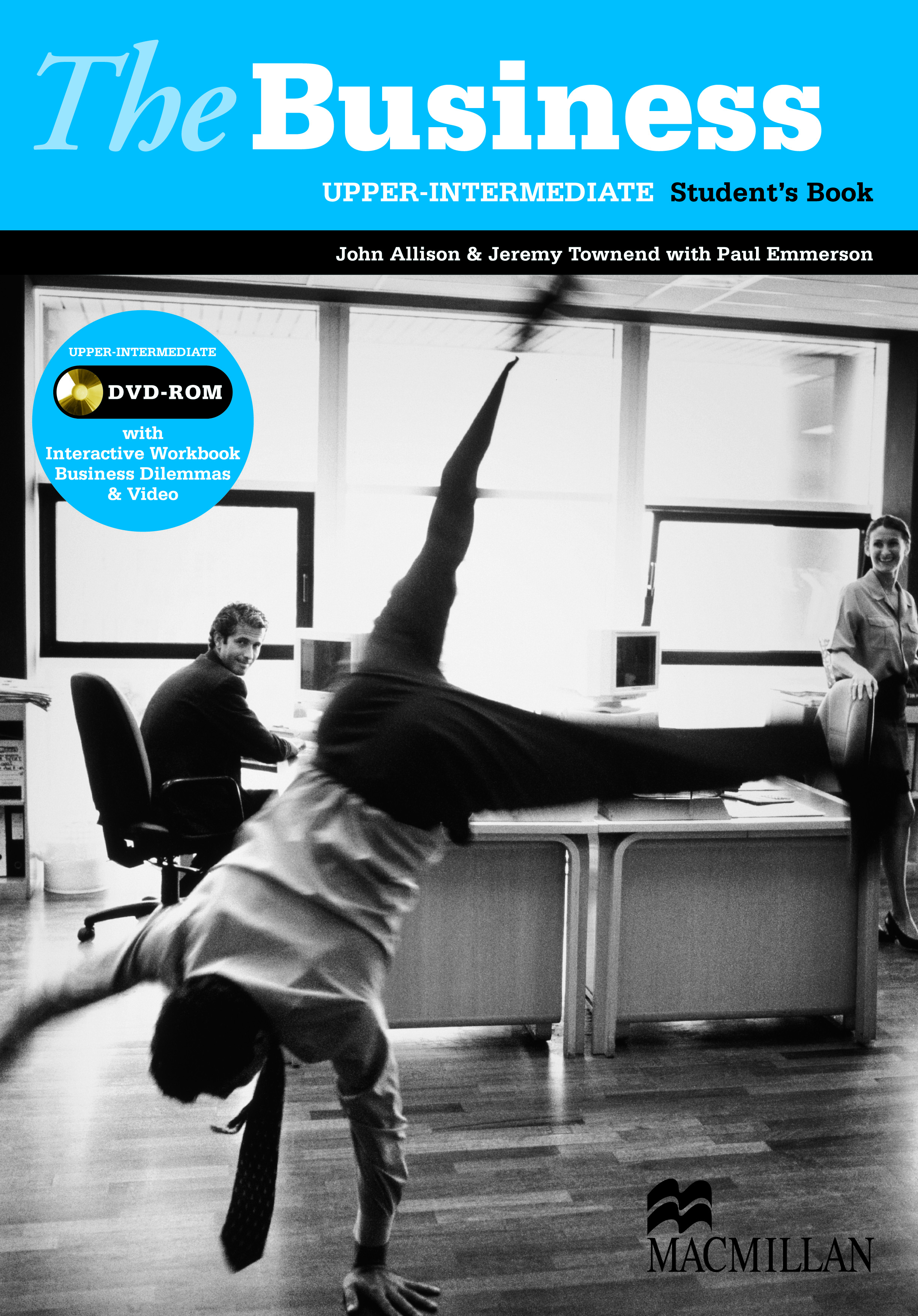 The Business Upper Intermediate Student Book and DVD-ROM Pack