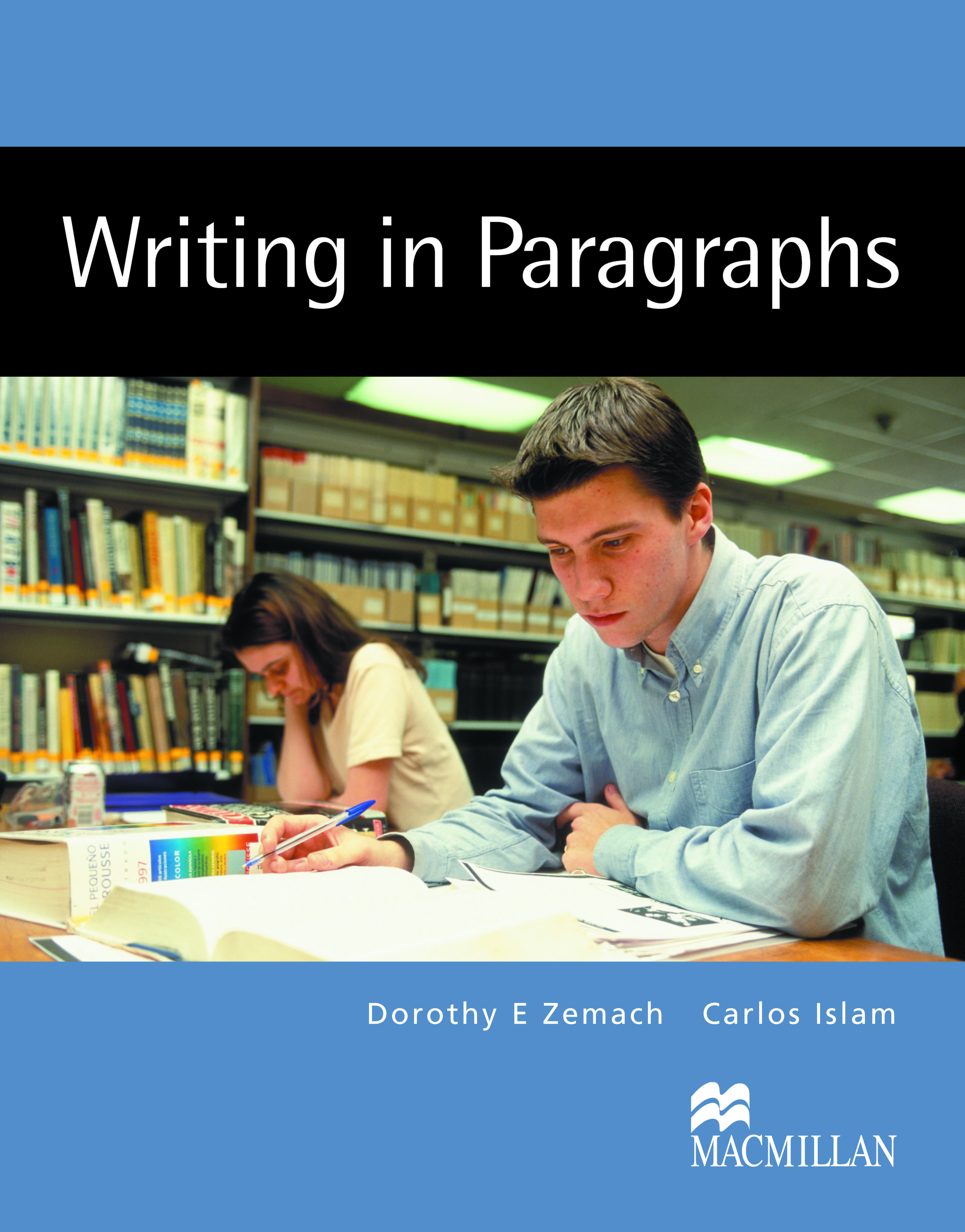 Writing in Paragraphs Student
